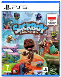 GRA PS5 Sackboy Wielka Przygoda Playstation 5 POLSKA WERJSA
