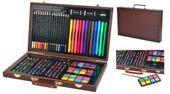 Mega Zestaw Malowania Rysowania Walizka Farby 81el 6072 zdjęcie 1