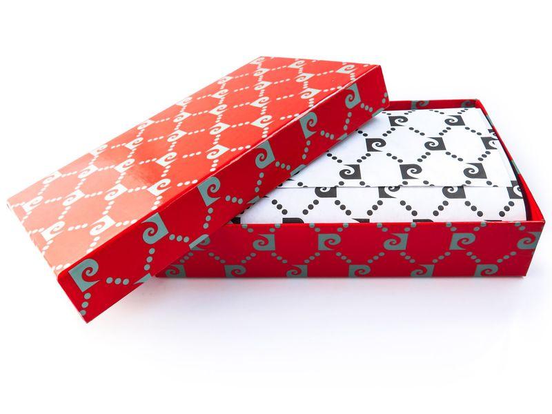 Czerwony portfel damski Pierre Cardin PFD10 zdjęcie 5
