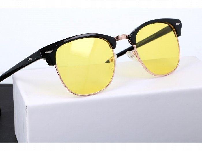 Okulary rozjaśniające dla kierowców półramki zdjęcie 3