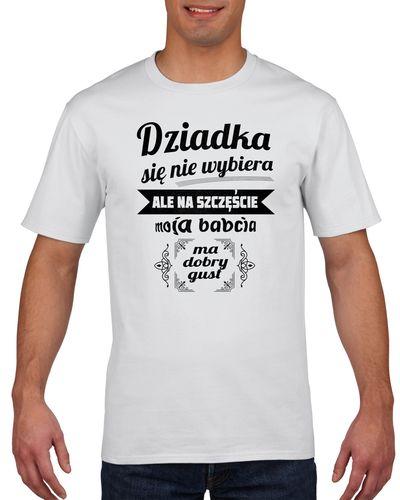 Koszulka męska DZIADKA SIE NIE WYBIERA XL na Arena.pl