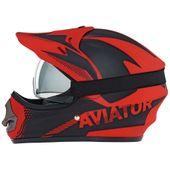 Aviator Cross Enduro MX24 + Gogle ref.1119 Kask Motocyklowy