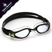 Okulary pływackie KAIMAN EXO SMALL  Kolor - Aqua Sphere - Kaiman EXO Small - EP116124 - czarny / transparent / jasne szkła