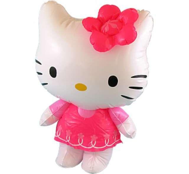 dmuchana zabawka HELLO KITTY kotek dmuchaniec 46cm zdjęcie 1