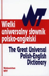 Wielki uniwersalny słownik polsko - angielski Wyżyński Tomasz