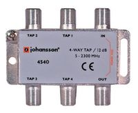 4 WAY TAP Odgałęźnik 4-krotny Johansson 12 dB 4540
