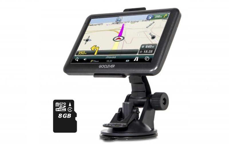 NAWIGACJA SAMOCHODOWA GPS GOCLEVER NAVIO 540 + 8GB zdjęcie 1