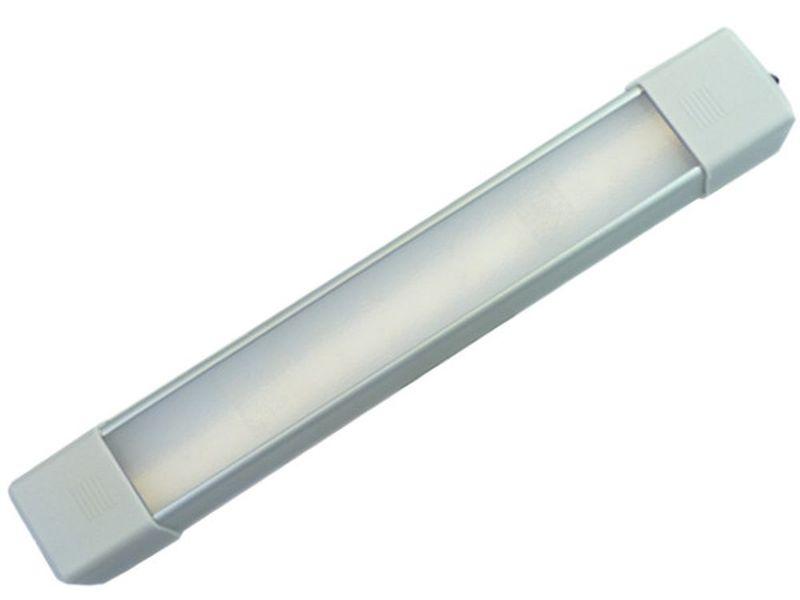 Lampa LED z włącznikiem 48 SMD 47 cm oświetlenie wnętrza 12v 24v na Arena.pl
