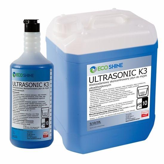 ECO SHINE ULTRASONIC K3 1L skoncentrowany płyn do myjek ultradźwiękowy na Arena.pl