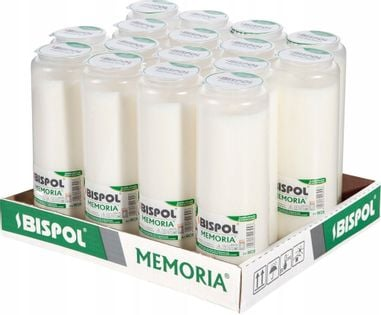 Wkłady do zniczy olejowe BISPOL WO8 192H 16szt