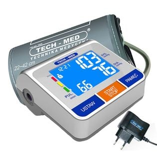 Ciśnieniomierz Elektroniczny Tma-500 Pro + Zasilacz Tech-Med