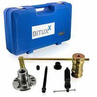 Zestaw w walizce ściągaczy do piast kół łożysk BITUXX nowy 17305