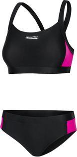 Kostium pływacki NAOMI Rozmiar - Stroje damskie - 40(L), Kolor - Naomi - 19 - czarny / fiolet