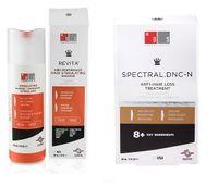 Szampon Revita 205ml + Spectral DNC-N nanoxidil 60ml słabe włosy ZESTA