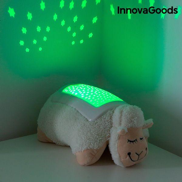Przytulanka Owieczka z Projektorem LED InnovaGoods zdjęcie 8