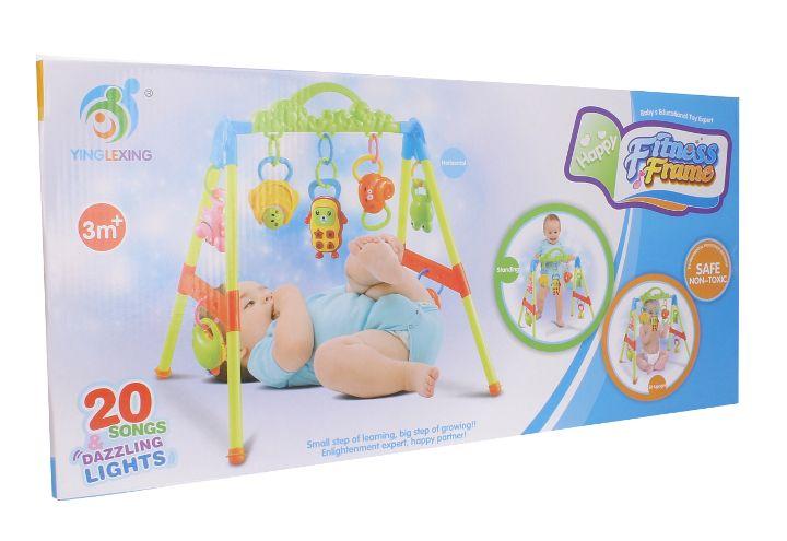 Stojaczek stojak dla dzieci gimnastyczny edukacyjny z grzechotkami Y85 zdjęcie 11