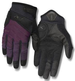 Rękawiczki damskie GIRO XENA długi palec dusty purple black roz. L (obwód dłoni 190-204 mm / dł. dłoni 185-195 mm) (NEW)