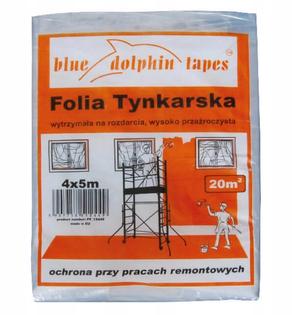 Folia tynkarska Blue Dolphin 20m2 4x5