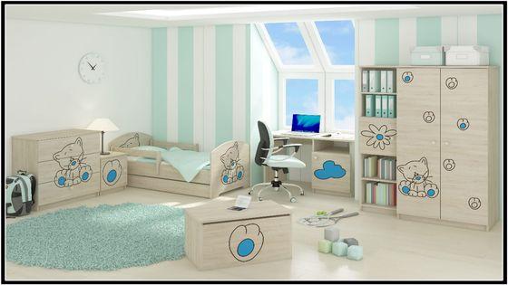 Meble dziecięce BABY BOO łóżko 140x70 7elementów WZORY !