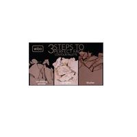 Wibo 3 Steps to Perfect Face Paleta do konturowania twarzy-dark 10g