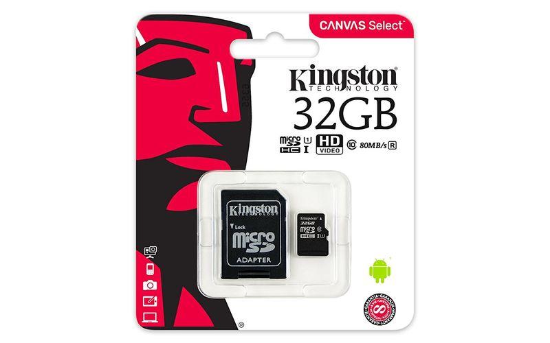Karta pamięci microSD 32GB + Adapter KINGSTON Canvas Select na Arena.pl