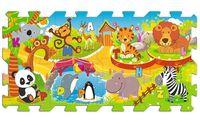 Edukacyjna układanka Zoo Fun 5 w 1 Trefl 60695