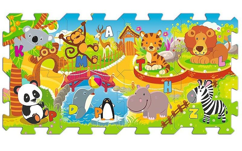 Edukacyjna układanka Zoo Fun 5 w 1 Trefl 60695 zdjęcie 1
