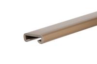 Listwa poręczowa PCV PREMIUM, poręczówka 40x8mm mosiądz 1mb