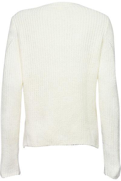 2ffc1d0b41 H M Biały Sweter o Grubszym Splocie - 38   M • Arena.pl