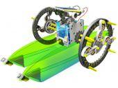 Edukacyjny Zestaw Solarny Robot 14w1 - Pies, Łódka zdjęcie 3