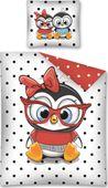 Pościel dziecięca PINGWINY 160x200 (2766) + GRATIS