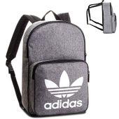 Plecak Adidas Originals D98923 Szary szkolny modny A4 miejski Unisex