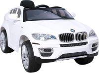HECHT BMW X6 WHITE SAMOCHÓD TERENOWY ELEKTRYCZNY AKUMULATOROWY AUTO JEŹDZIK POJAZD ZABAWKA DLA DZIECI + PILOT DYSTRYBUTOR AUTORYZOWANY DEALER HECHT