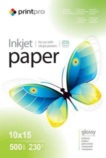 Papier Fotograficzny PrintPro Błyszczący 10x15 230g 500 szt