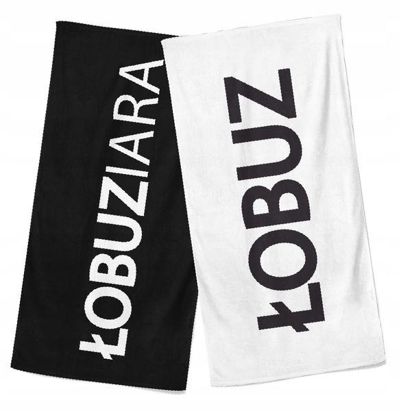 Ręcznik na prezent walentynki dużo wzorów 150 x 70 na Arena.pl