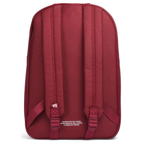 4d0c15c418c7 Plecak szkolny Adidas Originals Classic Trefoil BP7303 Bordo szkolny  zdjęcie 4