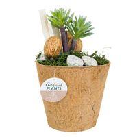 Roślina sztuczna w donicy wzór 4