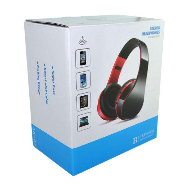Słuchawki BEZPRZEWODOWE nauszne BLUETOOTH mikrofon CZARNE zdjęcie 3
