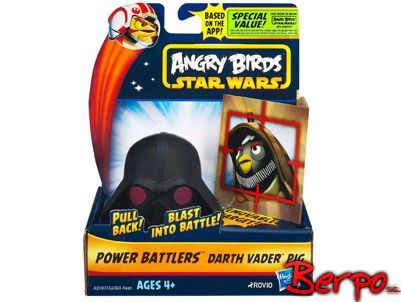 Hasbro A2497 Angry Birds: Star Wars - Power battlers Darth Vader na Arena.pl
