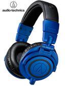 Słuchawki wokółuszne Audio-Technica ATH-M50xBB Kolor - Niebieski