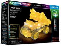 Laser Pegs Świecące Klocki 4W1 Dump Truck Wywrotka 76El. 41014