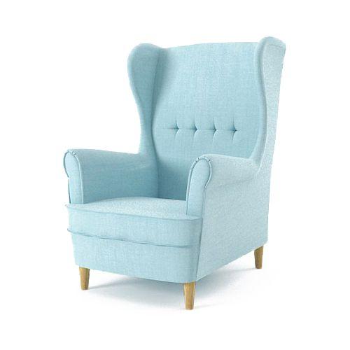 Fotel USZAK MILO styl skandynawski PRODUCENT zdjęcie 1