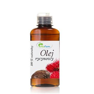 Olej rycynowy 500 ml VitaFarm
