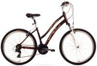 Rower Miejski 26 Romet Belleco 1.0 City Brązowy 16