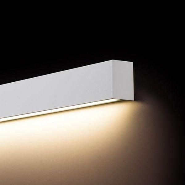 Modernistyczne Lampa kinkiet LED STRAIGHT WALL 9611 White M Nowodvorski • Arena.pl QB86