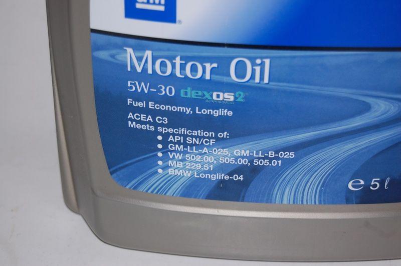 5L OLEJ OPEL GM 5W30 DEXOS 2 dla filtrów DPF zdjęcie 2