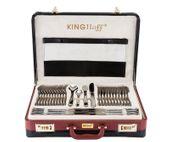 Komplet sztućców w walizce KINGHOFF 72 ELE. Połysk KH-3519