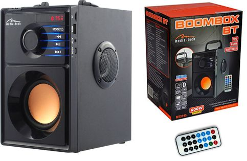 Głośnik Boombox Bluetooth BT MT3145 15W 600W FM USB SD MP3 Media-Tech