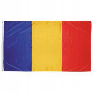 Flaga na maszt 90 x 150 cm Rumunia
