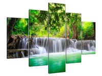 Obraz Drukowany 150x105 Tajlandia wodospad w Kanjanaburi  dorobek  jedyny w swoim rodzaju